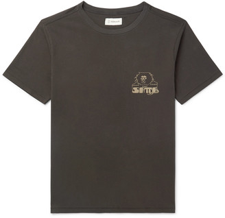 Satta - Logo-Print Organic Cotton-Jersey T-Shirt - Men