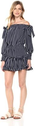 MISA Women's Carly Dress Garnet Large