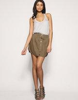 ASOS Button Through Casual Skirt