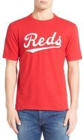 Red Jacket Men's 'Cincinnati Reds - Twofold' Crewneck T-Shirt