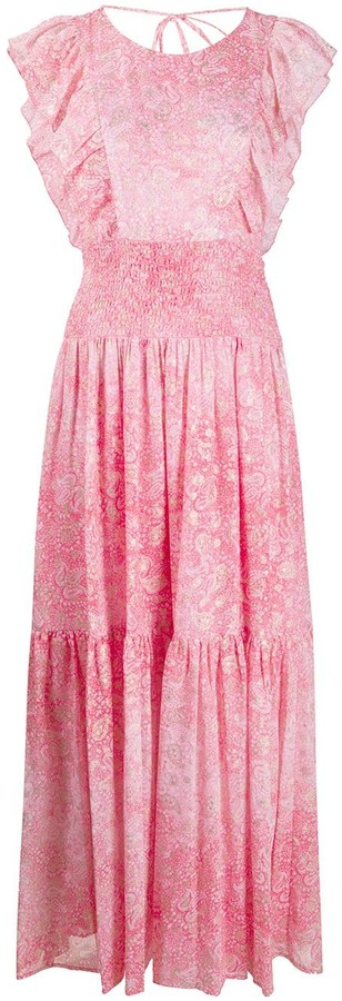 MICHAEL Michael Kors Paisley Print Maxi Dress