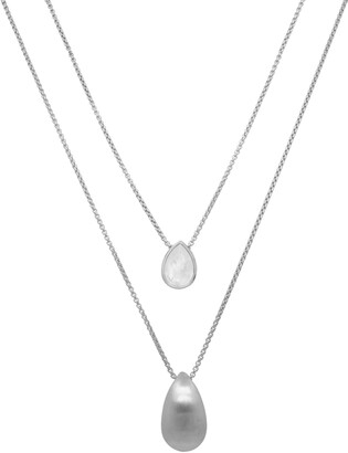 Dean Davidson Signature Teardrop Layered Necklace