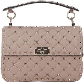 Valentino Rockstud Zip Handbag