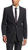 Haggar Men's Twill Slim-Fit Two-Button Suit-Separate Jacket