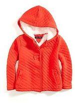 Tommy Hilfiger Little Girl's Hooded Fleece Coat