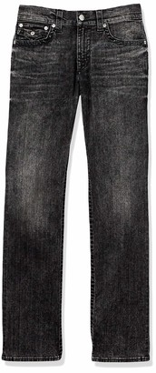 True Religion Men's Tall Size Ricky Straight Leg Jean