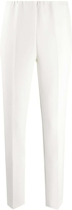 P.A.R.O.S.H. High-Waisted Straight-Leg Trousers