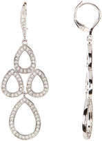 Judith Jack Crystal Chandelier Earrings