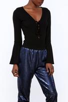Solemio Bell-Sleeve Bodysuit