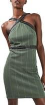 Topshop Women's Hardware Strap Body-Con Dress