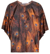 Givenchy Printed Silk Blouse