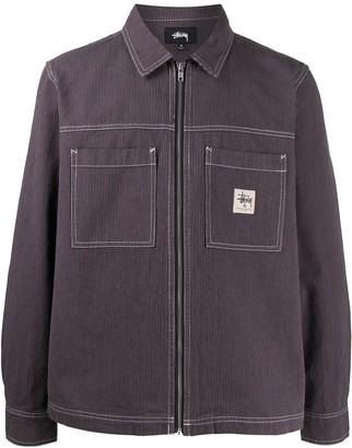 Stussy Zip-Through Overshirt