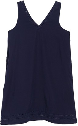 Susina V-Neck Sleeveless Shift Dress (Regular & Petite)