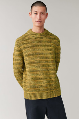 Cos Chunky-Knit Round-Neck Sweater