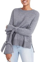 Madewell Women's Tie Cuff Pullover Sweater