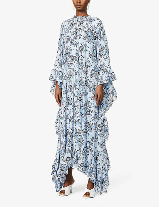 Erdem Darence floral-print relaxed-fit silk-crepe maxi dress