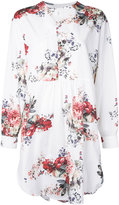 Antonio Marras floral print tunic - women - Cotton - 44