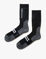 Satisfy Possessed Patchwork Tube Socks