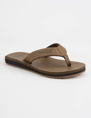 Quiksilver Carver Nubuck Mens Sandals