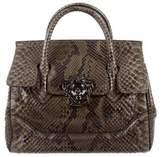 Versace Python Palazzo Empire Bag