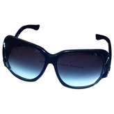 Balenciaga Black Metal Sunglasses