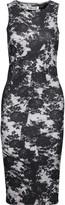 McQ by Alexander McQueen Printed stretch-cotton dress