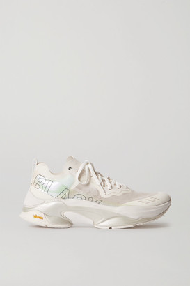 Brandblack Kite Racer Camouflage Mesh, Ripstop And Rubber Sneakers - White