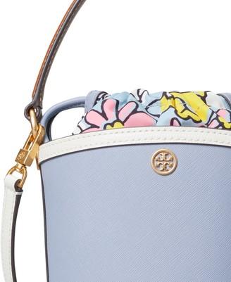 Tory Burch Robinson Color-Block Mini Bucket Bag