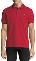 McQ Logo Polo Shirt w/Contrast Tipping