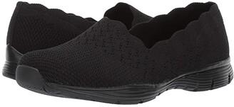 Skechers Seager - Stat (Black/Black) Women's Shoes
