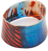 Marni Painted Bracelet in Horn