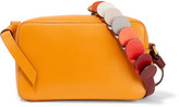 Anya Hindmarch Circle Mini Leather Shoulder Bag - Saffron