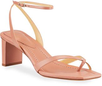 Alexandre Birman Nelly Crisscross Toe-Ring Sandals