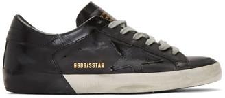 Golden Goose Black Superstar Sneakers