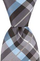 Daniel Cremieux Journey Plaid Narrow Silk Tie