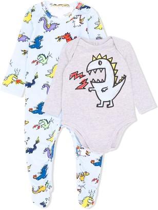 Stella Mccartney Kids Dinosaur Print Bodysuit