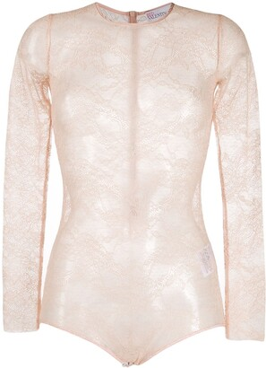 RED Valentino Lace Bodysuit