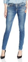 Big Star Women's Alex Mid Rise Skinny Jean In 5 Years Foxwood