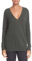 Theory Women's 'Adrianna' V-Neck Cashmere Pullover