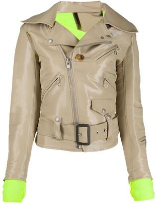 Junya Watanabe Patent Biker Jacket