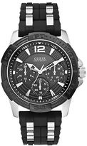 GUESS Mens Two-Tone Masculine Sport Watch