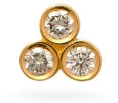 Sophie Bille Brahe Flacon Petite Diamond & 18kt Gold Single Earring - Yellow Gold