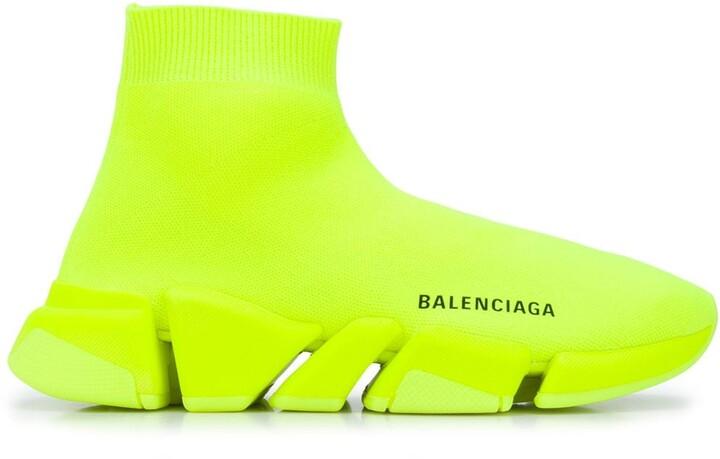 Balenciaga Yellow Women's Sneakers