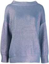 Pinko oversized metallic jumper