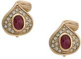 Christian Dior pre-owned tear shaped earrings