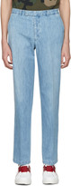 Valentino Blue Denim Trousers