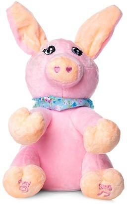 Peek A Boo Interactive Sing Play Plush Pig Toy