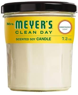 Mrs. Meyer's Honeysuckle Large Jar Candle - 7.2oz