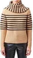 Topshop &Broadwick& Stripe Wool Blend Scarf