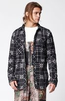 Neff Engine Plaid Flannel Shacket